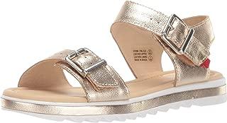 Kids Boys/Girls Leather Made in Brazil Buckle Sandal Loafer
