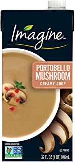 Imagine Creamy Soup, Portobello Mushroom, 32 oz.