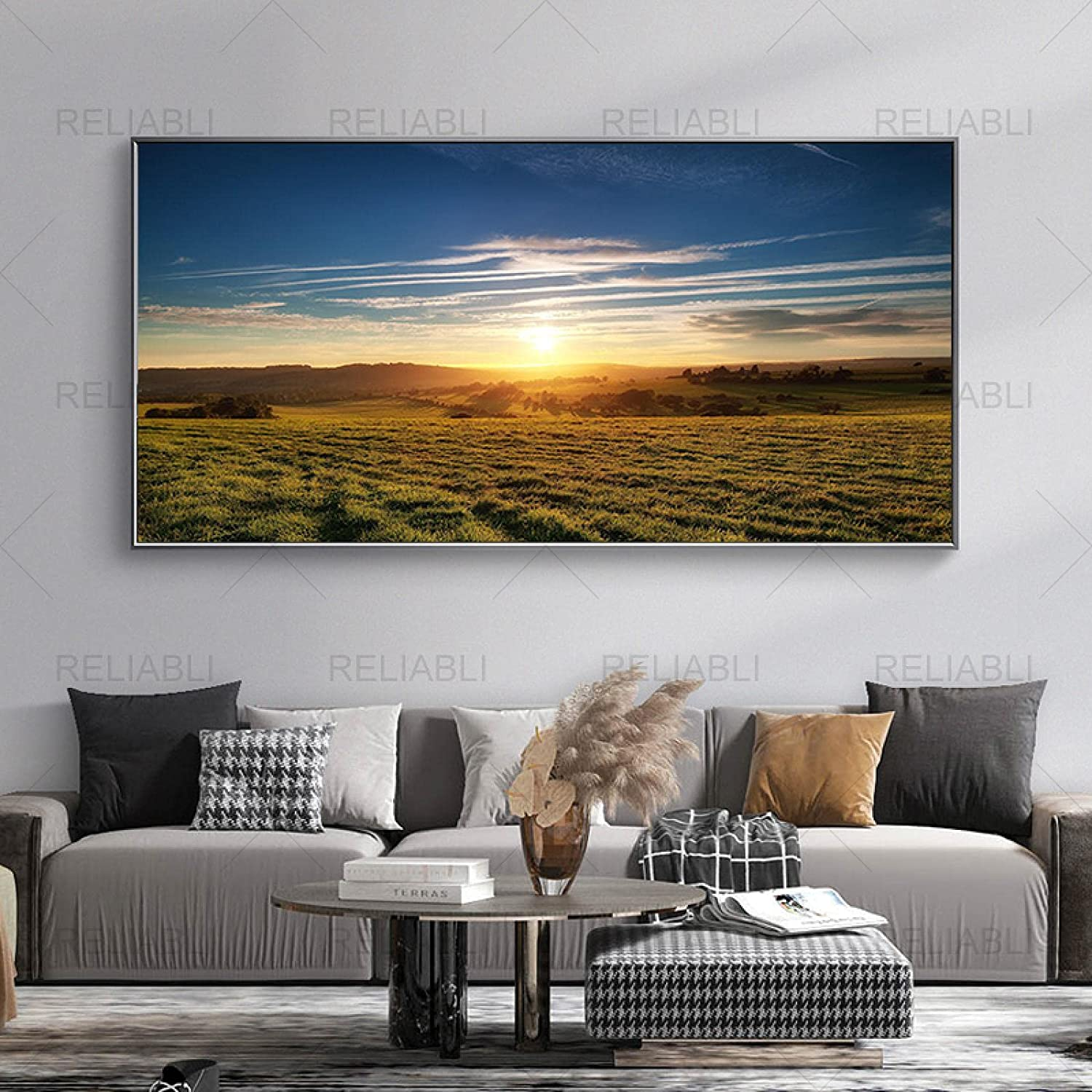 Nordic Jacksonville Mall Posters and Prints Modern Natural Field Free shipping New Canvas P Pictures