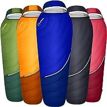 ATEPA 0 Degree Down Sleeping Bag (XL & Regular Size), 650 FP Cold Weather Lightweight Backpacking 4 Season Waterproof Slee...