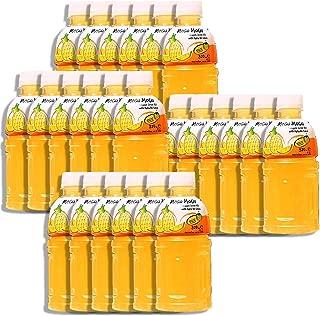 Mogu Mogu Fruit Juice with Nata De Coco, 10.82 oz (Pack of 24) (Pineapple)