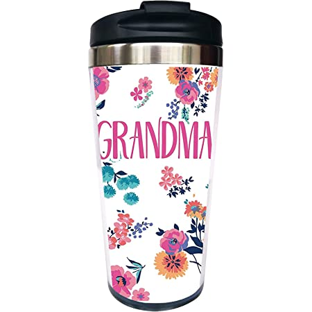 Tervis Grandma Dainty Floral Insulated Tumbler With Wrap And Lid 16 Oz Tritan Clear Tumblers Water Glasses