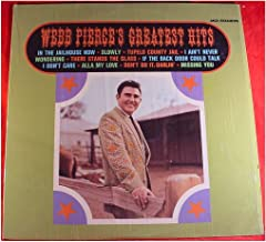 Webb Pierce - Webb Pierce's Greatest Hits - Decca, Decca - DL 4999, DL 74999 - United States - - Very Good Plus (VG+)/Very...