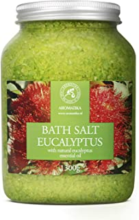 Sales de Baño 1300g con Aceite Esencial de Eucalipto