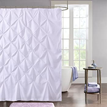 Amazon Com Sweet Home Collection Fabric Shower Curtain 70 X 72