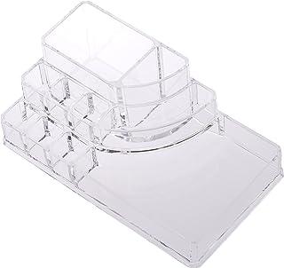 صندوق تنظيم امازون بيسكس صندوق تخزين مستحضرات التجميل الاكريليك مربع، كبير
