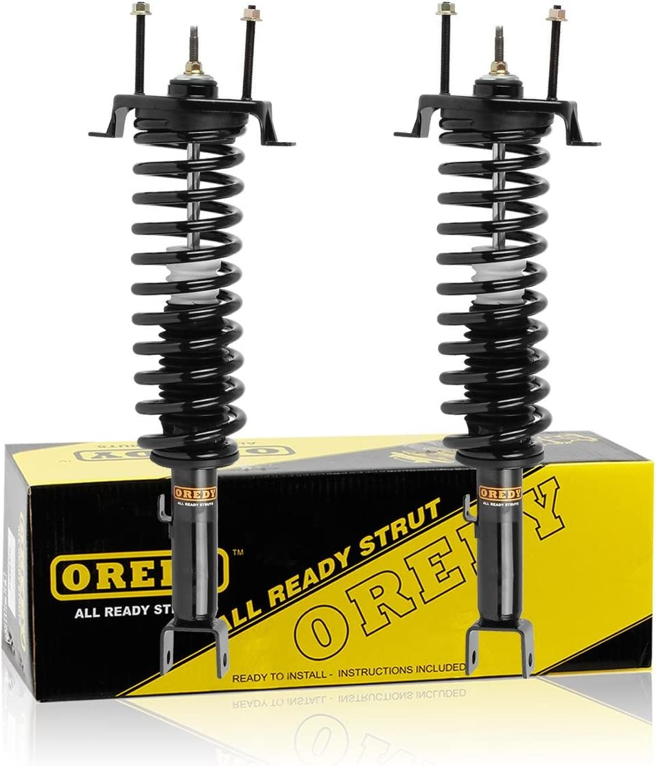 Max Milwaukee Mall 51% OFF OREDY Rear Pair Complete Struts Shock Sprin Assembly Coil