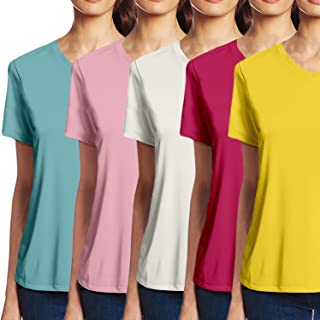Pooplu Women's T-Shirt (Pack of 5)