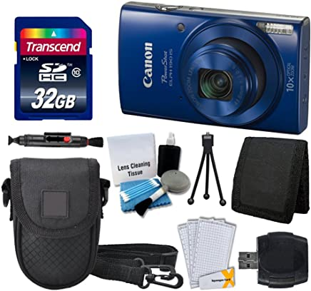 Canon PowerShot ELPH 190 is Digital Camera (Blue) +...