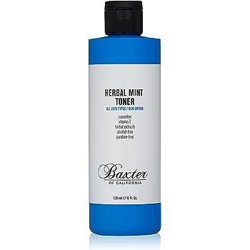 Baxter of California Herbal Mint Toner for Men | All Skin Types | Non-Drying | Paraben-Free | 8 Fl Oz