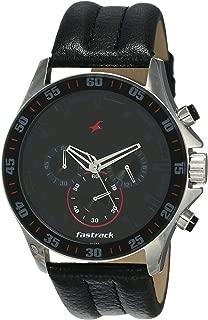 Fastrack Chrono Upgrade Analog Black Dial Men's Watch -NK3072SL06