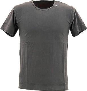 [SWEEP!! LosAngeles スウィープ ロサンゼルス] メンズ コットン 半袖 クルーネックTシャツ CREW SWFJCRW-11 SMOKE(ダークグレー)