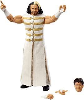 WWE Matt Hardy Multicolor Elite Collection Wrestlemania 34 Action Figure with Deluxe Articulation, Life-Like Detail, Authe...