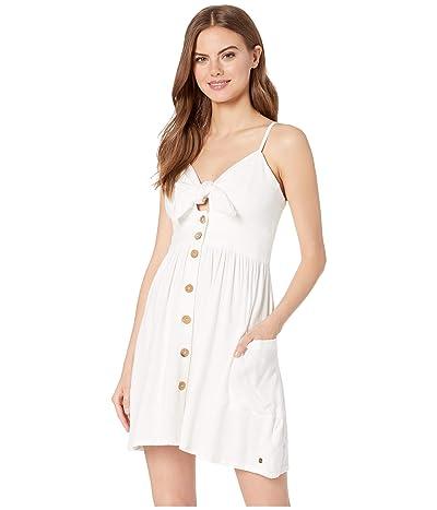 Roxy Under the Cali Sun Woven Dress (Marshmallow) Women