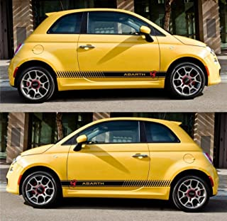 Infinity-270 Euro f!at Abarth 500c 500 Grande Punto Racing Stripes Italy Sticker
