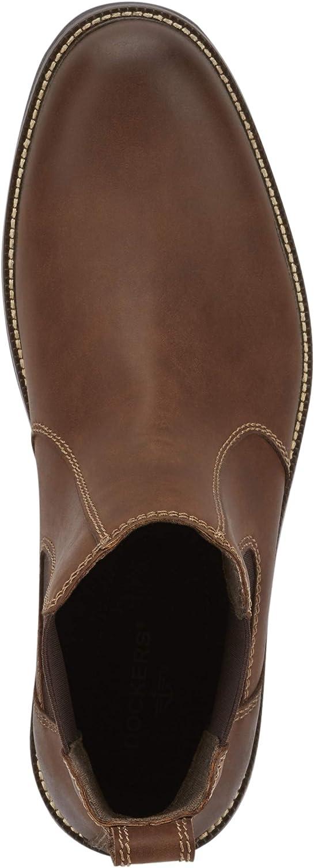Dockers Men's Langford Casual Slip-on Chelsea Boot