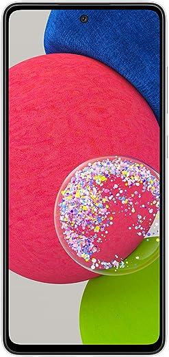 هاتف سامسونج جالاكسي A52s 5G ثنائي الشريحة الذكي - 128 جيجابايت، ذاكرة رام 8 جيجابايت، أبيض رائع (نسخة كيه إس أي)