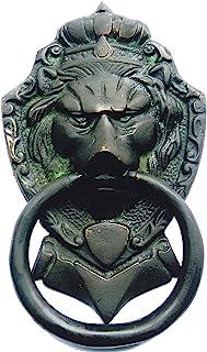 Brassware Door Knocker of Lion Face