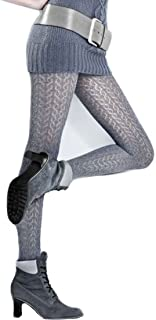 Marilyn jaquard Strumpfhose mit Rankenmuster in 3D Optik, 120 Denier