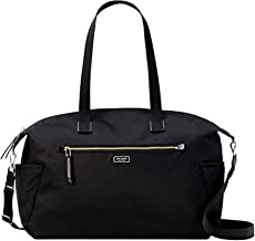 Kate Spade New York Weekender Travel Bag Dawn Black Nylon LARGE DUFFLE