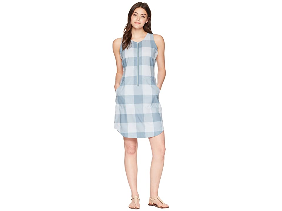 Woolrich Over and Out Dress (Bluestone Check) Women