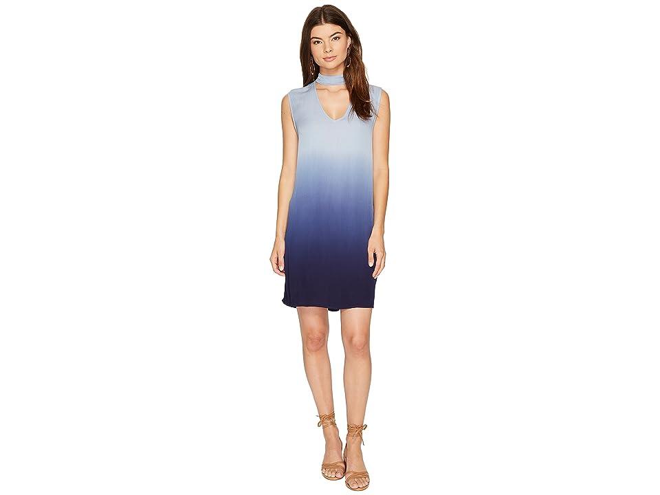 BB Dakota Jill Ombre Shift Dress (Faded Denim) Women