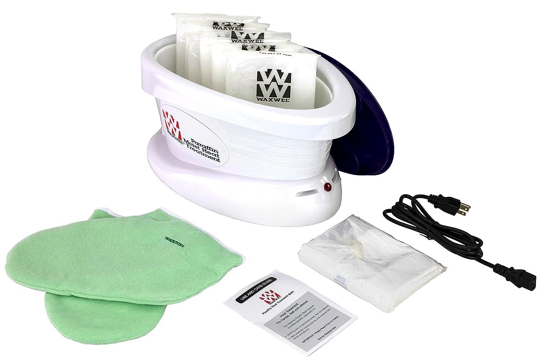 WaxWel - 11-1605 Waxwel Paraffin Wax Bath Unit w/Citrus Kit: Includes 6 lb Citrus Wax, 100 Liners, 1 Mitt, 1 Bootie: Industrial & Scientific