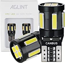 AGLINT T10 W5W LED Lampen CANBUS Fout Gratis 10SMD 194 168 2825 Wedge voor Auto Interieur Koepel Kofferbak Kentekenverlich...