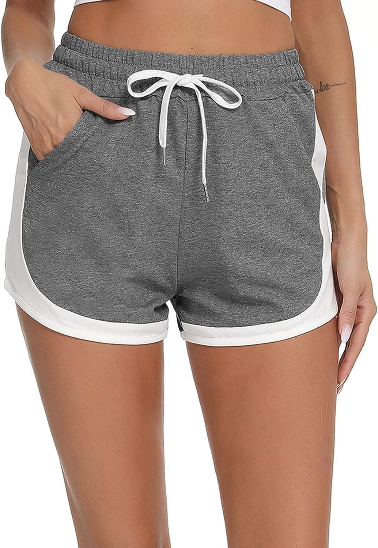 Doaraha Womens Shorts for Las Vegas Mall Summer Loose Short Omaha Mall Workout Running Fit