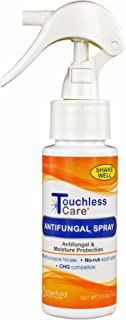 Touchless Care Antifungal Spray, Antifungal and Moisture Protection for Feet, Skin Folds and Perineal Area, Easy to Apply ...