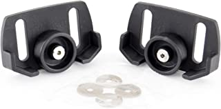 Surefit 504-01088 Universal Rolling kit Snow Thrower Replacement Skid Shoes, Black