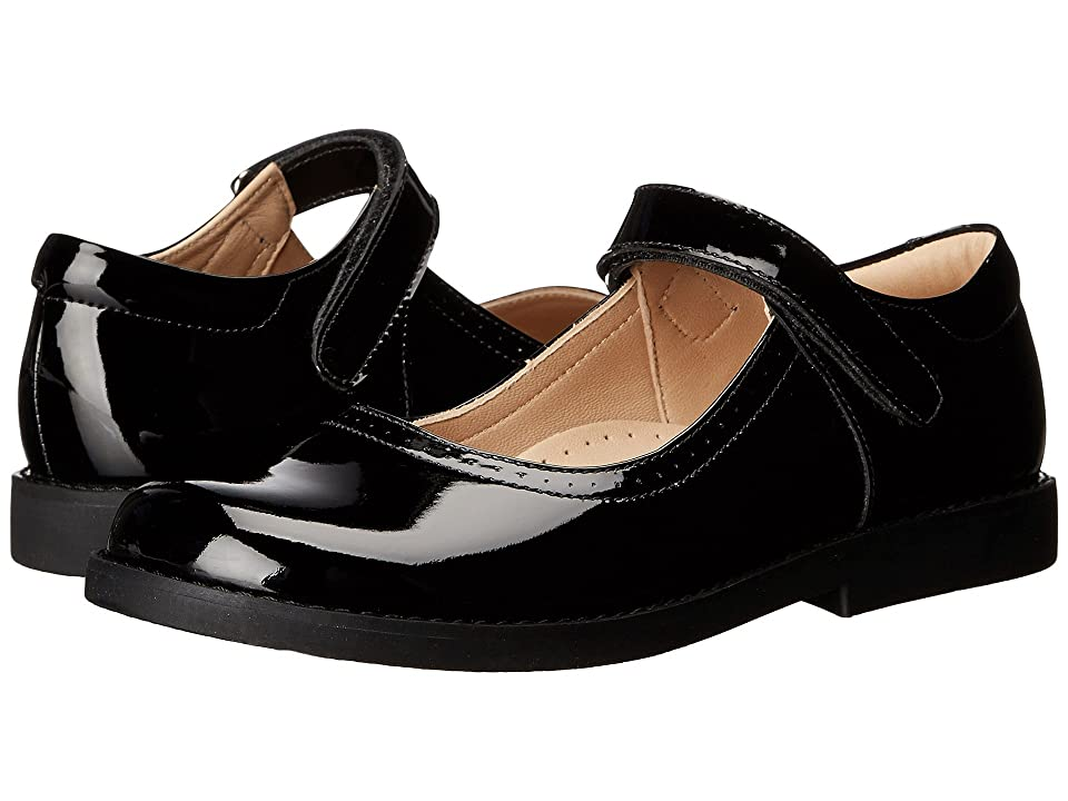 Elephantito Patent Mary Jane (Toddler/Little Kid) (Black) Girls Shoes