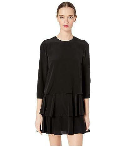 Jason Wu Long Sleeve Dress (Black) Women