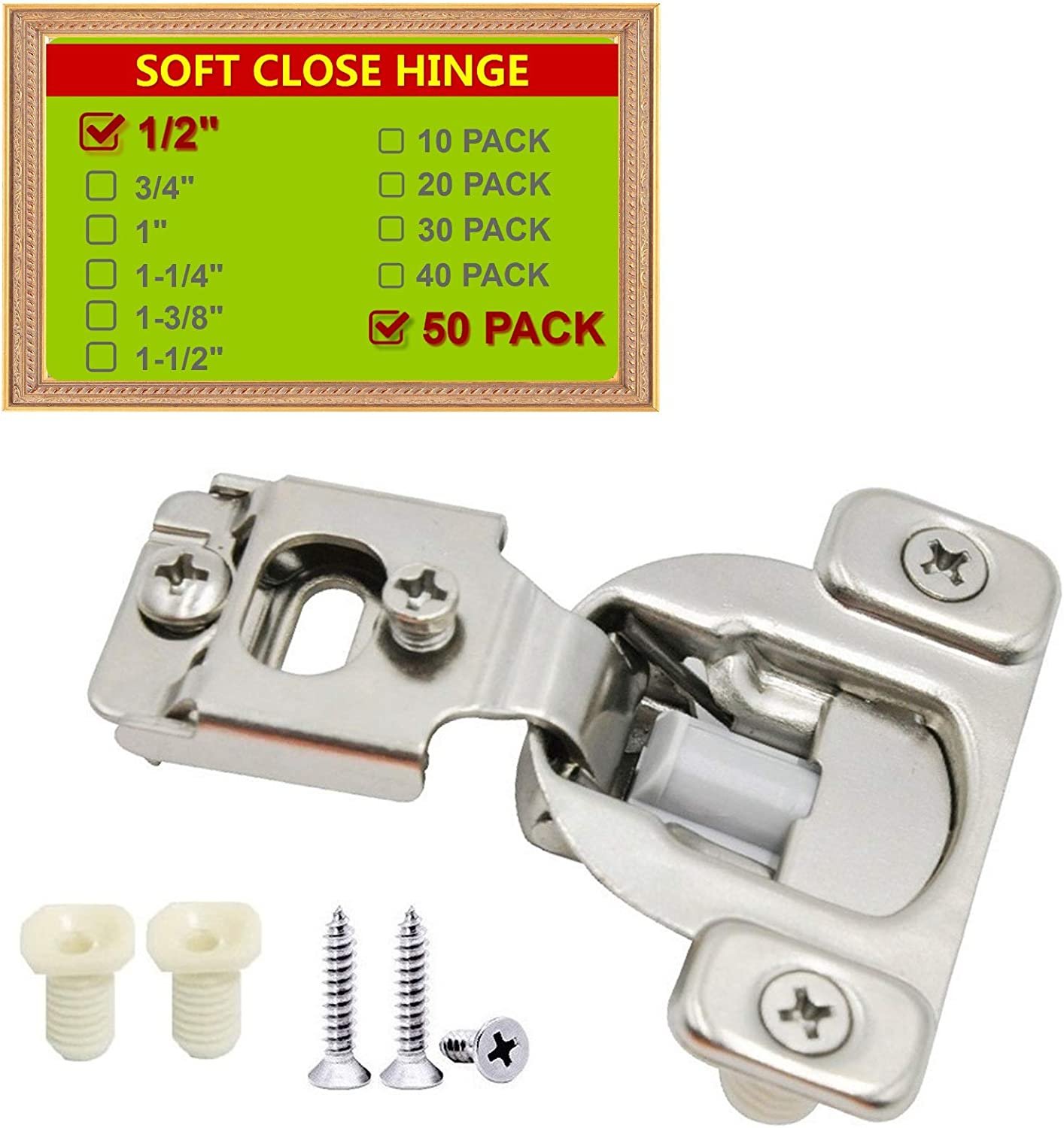 STIANC Face Frame Soft Close Hinge Cabinet Kitchen Compact Ranking TOP6 105° New Free Shipping