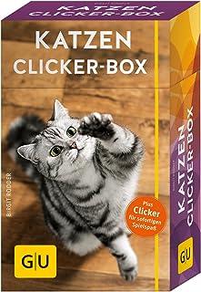 Katzen Clicker-Box gelb 12 x 3,5 cm: Plus Clicker für sofortigen Spielspaß GU Tier-Box