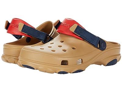 Crocs Classic All Terrain Clog (Tan/Multi) Clog Shoes