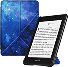 Fintie Origami Case for All-New Kindle Paperwhite (10th Gen, 2018 Release) - Slim Fit Stand Cover Support Hands Free Reading with Auto Sleep/Wake for Amazon Kindle Paperwhite E-Reader, Starry Sky