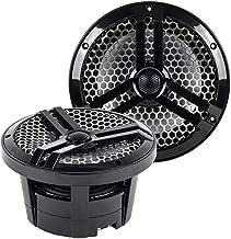 "Skar Audio SK8MB 8"" 2-Way Marine Full Range 500 Watt Coaxial Speakers, Pair (Black) photo"