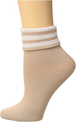 Originals 3-Stripe Fold Ankle Single Quarter Sock