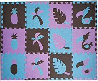 Q Baby Play Mat, EVA Foam Puzzle Play Mat Baby, 8 / 24pcs Toucan Baby Entertainment Center Play Mat For Baby for Bedroom L...