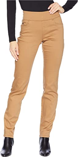 D-Lux Denim Pull-On Slim Jeggings in Caramel