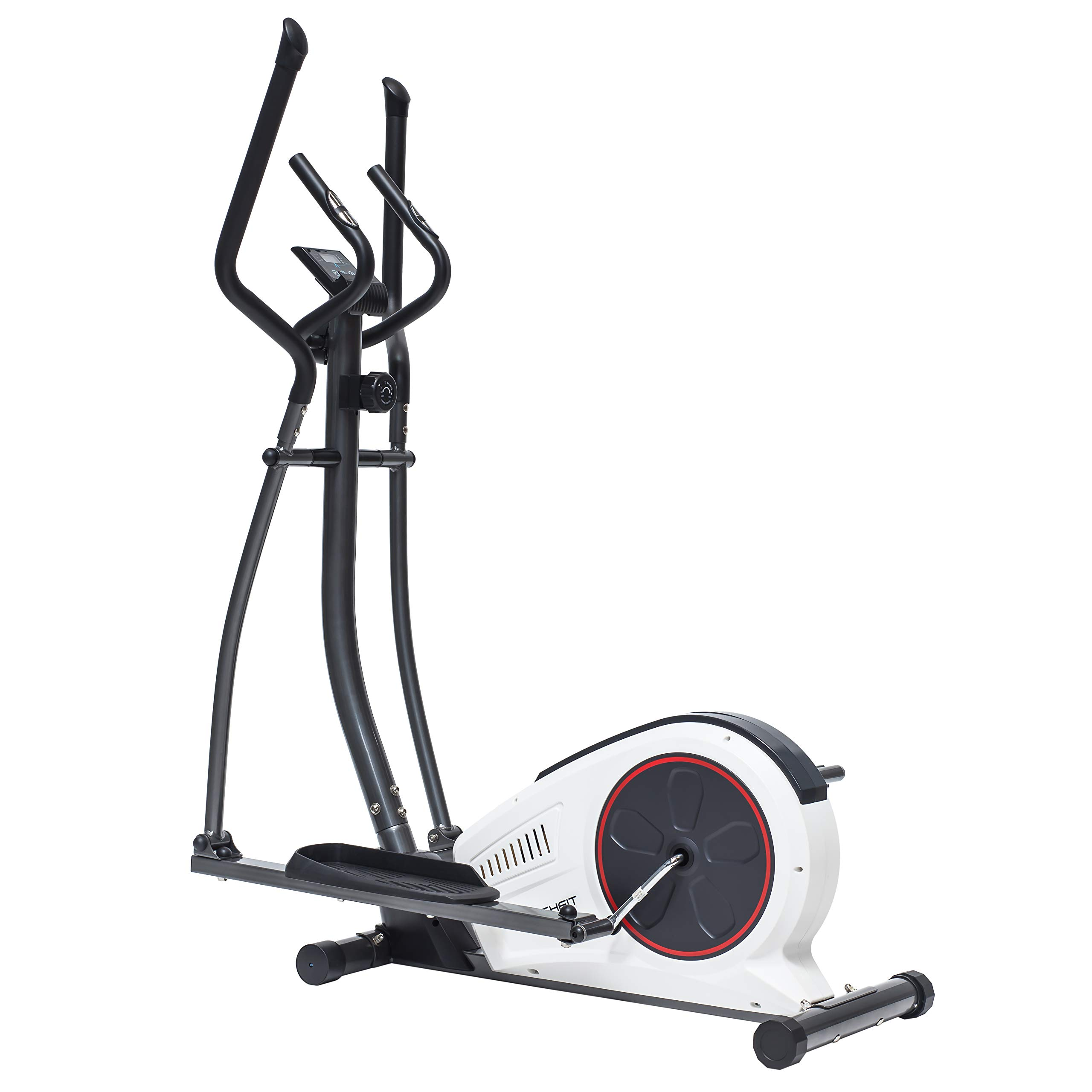 TechFit E450 Cross Trainer, Bicicleta Elíptica para el hogar, Máquina de Cardio para Ejercicios de Fitness, Dispositivo de Resistencia magnética Apta para Espacios Interiores: Amazon.es: Deportes y aire libre