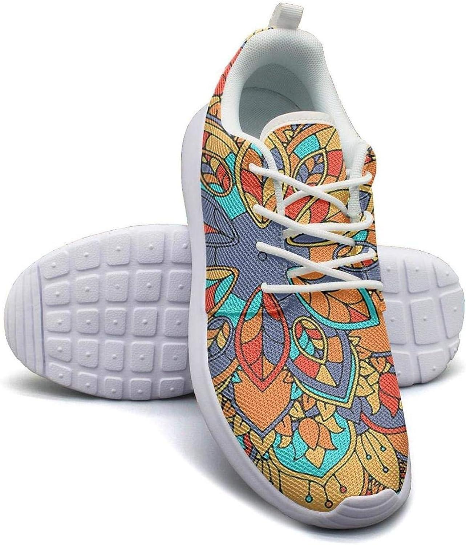 Hobart dfgrwe Popular Mandalas Pattern Art Design Girl Canvas Casual shoes Sneakers Comfortable Sneakers