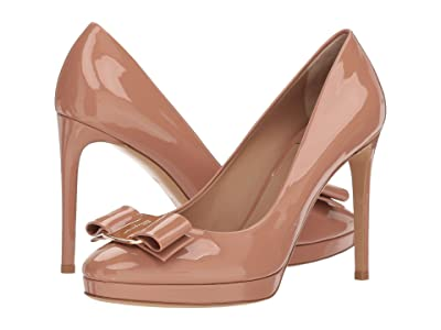 Salvatore Ferragamo Osimo Pump (New Blush) High Heels