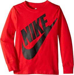 Jumbo Futura Long Sleeve Tee (Little Kids)