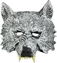 werewolf half face mask