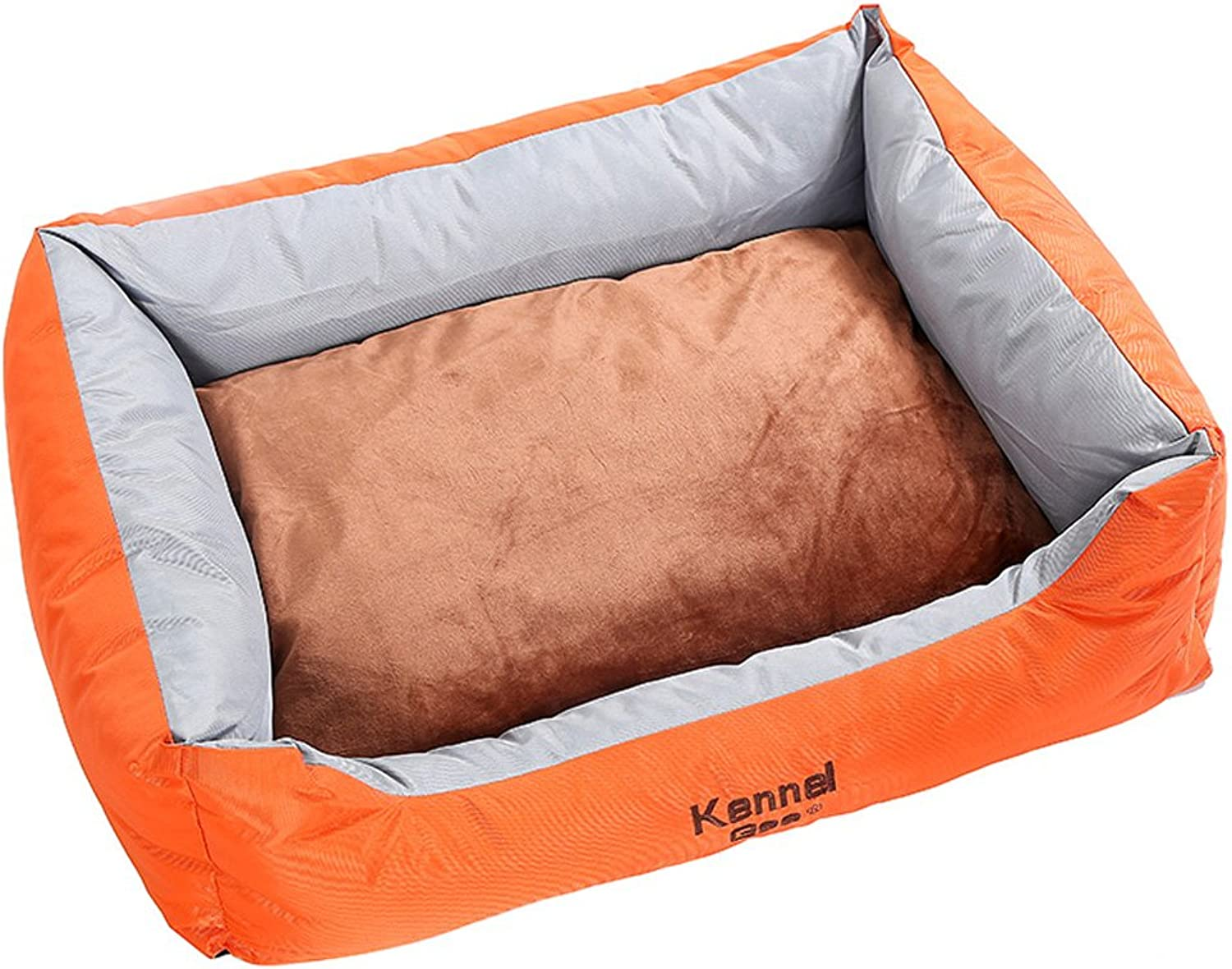 Friends Forever Premium Orthopedic Dog Bed Lounge, Removable Cover, Suede with Memory-Foam Base, Prestige Edition