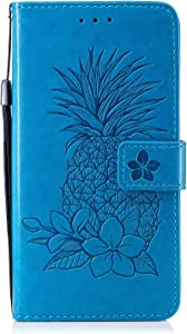 Bear Village  Xiaomi Redmi Note Case  Premium Leather Wallet Case with Viewing Stand and Card Slots  Magnetic Flip Cover for Xiaomi Redmi Note Blue