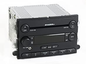 1 Factory Radio AM FM 6 Disc CD Player Shaker 500 w Aux Input Compatible With 2007 Ford Mustang 7R3T-18C815-GF