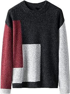 Sweater Men Streetwear Striped Knitwear Patchwork Autumn Winter Cotton Pullover Men Slim Fit O Neck Pull Homme